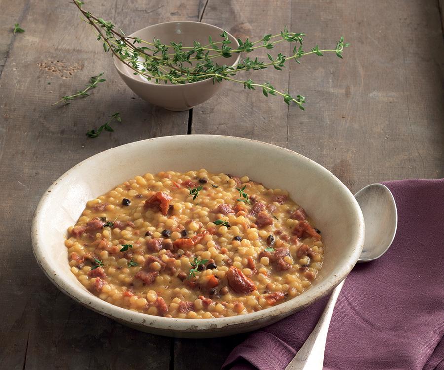 cucina tradizionale sarda fregula